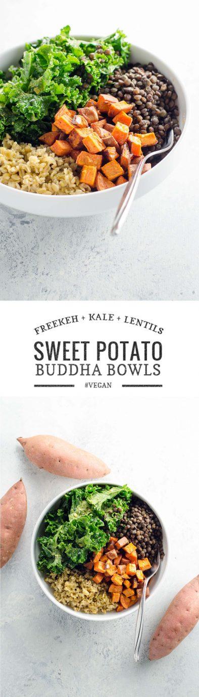 Sweet Potato Buddha Bowls | Umami Girl