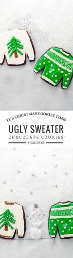 Ugly Sweater Cookies | Umami Girl