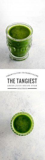 Tangy Green Juice Recipe   Umami Girl