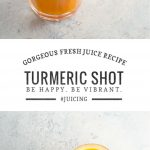 Turmeric Shot Recipe | Umami Girl