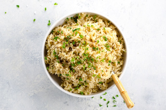 basmati rice pilaf umami girl
