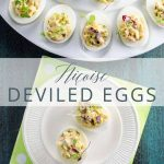 Nicoise Deviled Eggs _ Umami Girl PIN