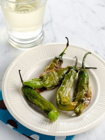 Shishito Peppers Recipe Padrón Peppers | Umami Girl