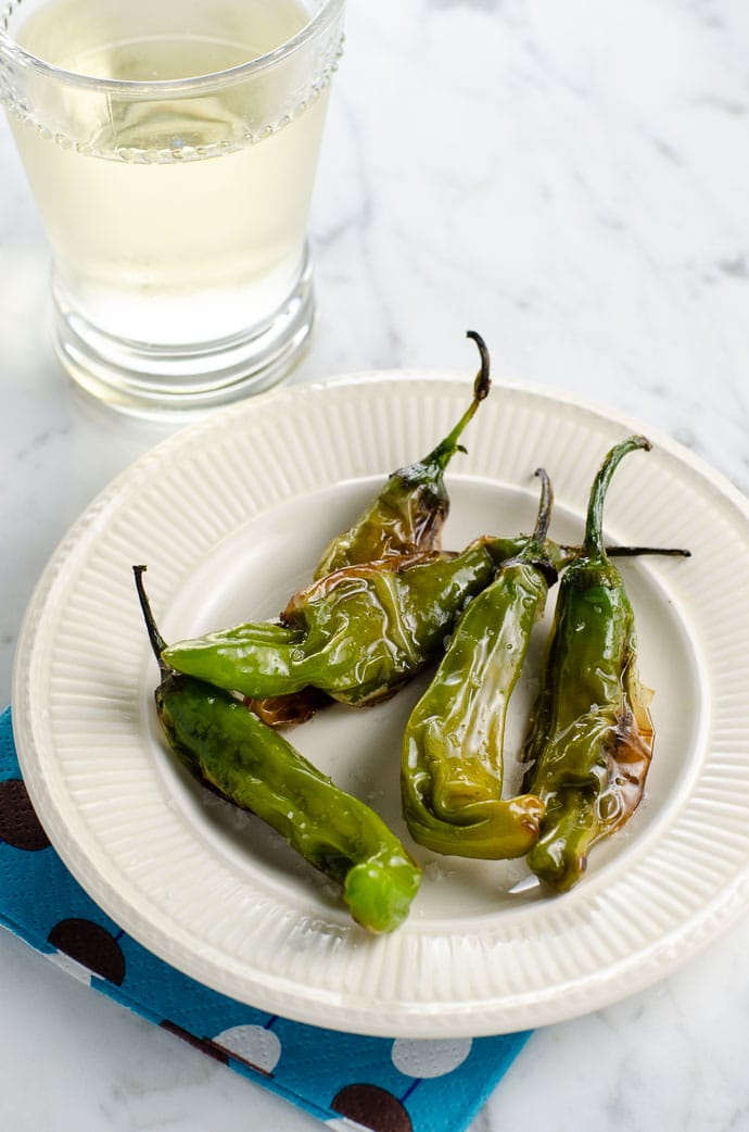 Charred Shishito Peppers Recipe: An Easy Appetizer