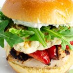 Grilled Chicken Sandwiches with Halloumi | Umami Girl