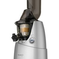 Kuvings BPA-Free Whole Slow Juicer Silver B6000S with Sortbet Maker, Cleaning Tool Set, Smart Cap and Recipe Book