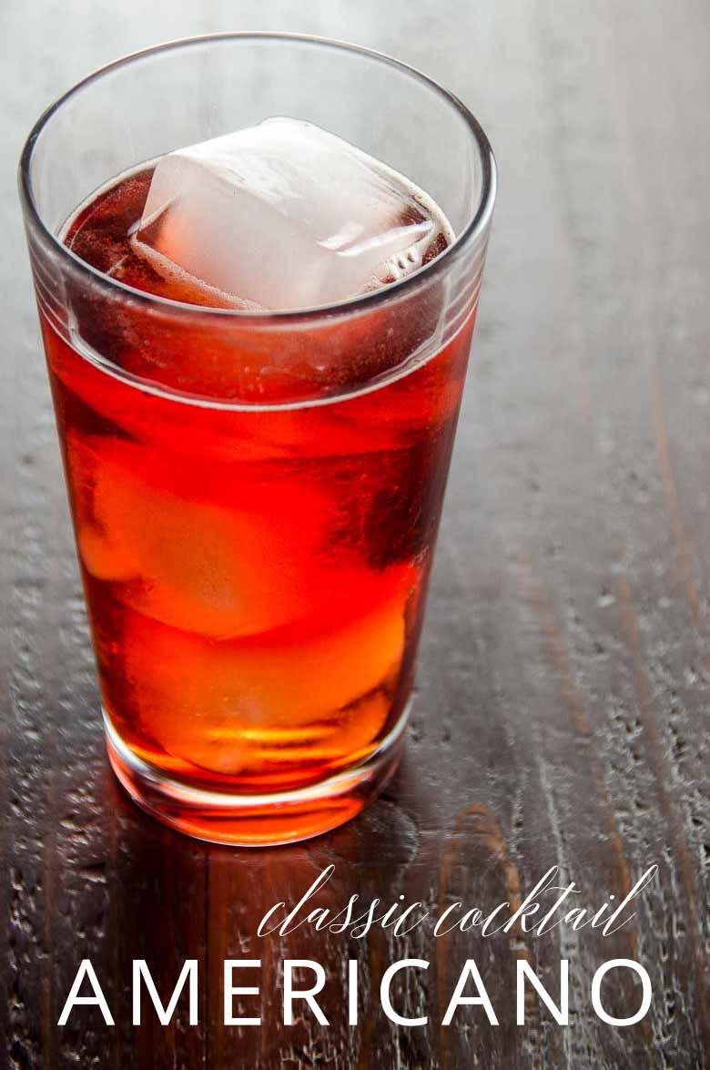 Americano Cocktail _ Umami Girl PIN