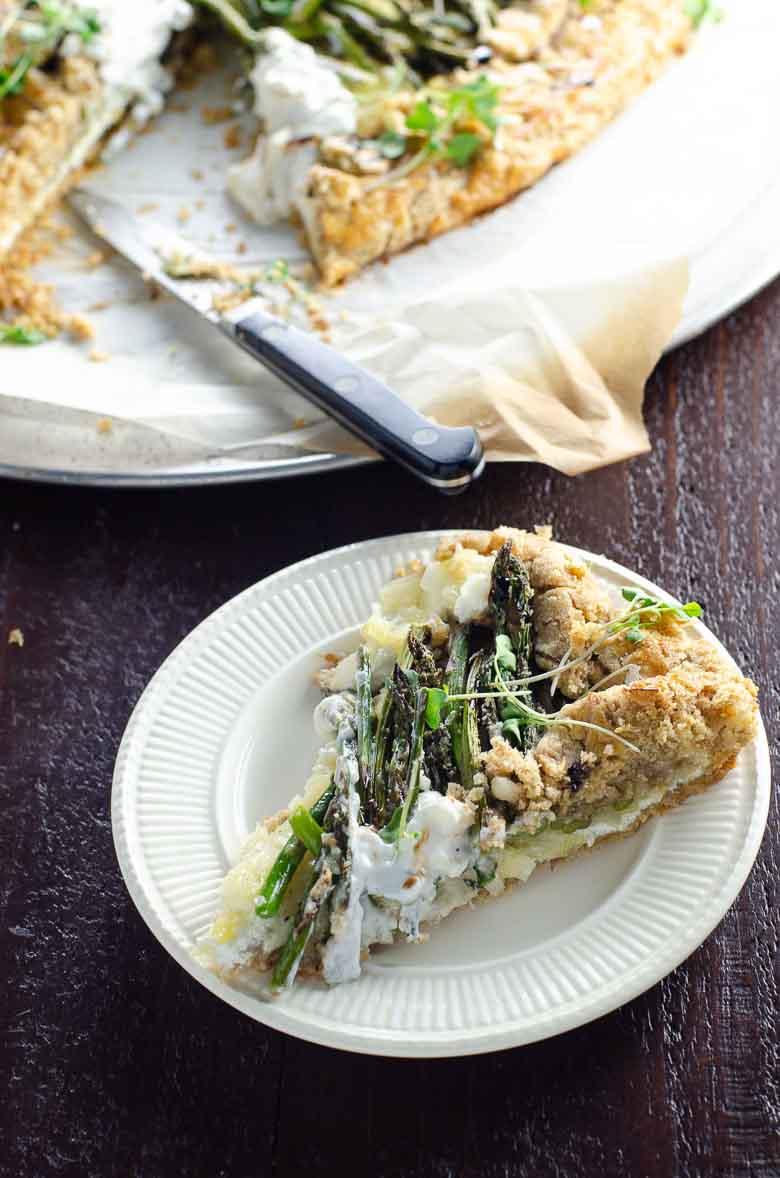 How to Make Savory Tart Dough Galette Crostata 780 | Umami Girl