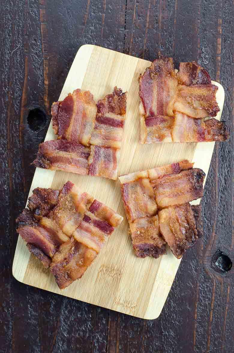 Bacon Weave Blue Cheese Burgers 780 | Umami Girl
