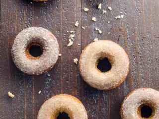 Easy Baked Apple Cider Donuts
