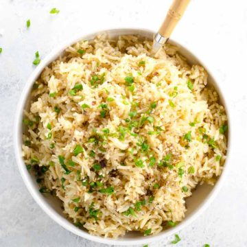 Basmati Rice Pilaf 780 | Umami Girl