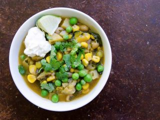 Smoky Potato, Corn and White Bean Stew