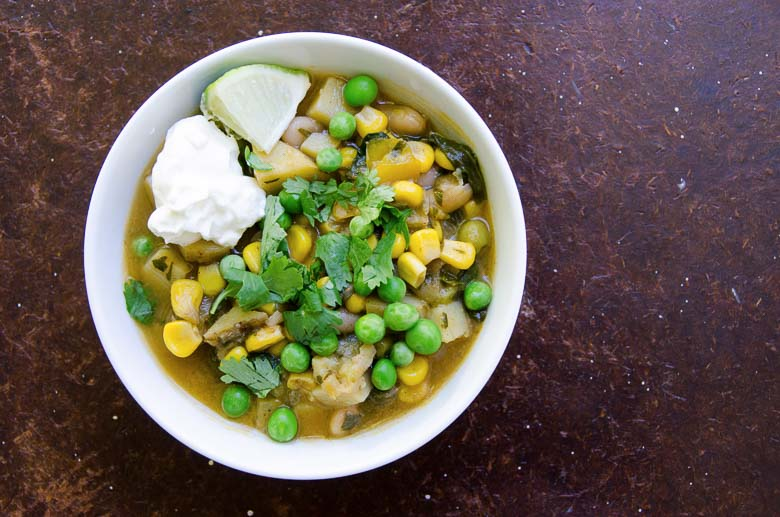 Bean Stew with Corn and Potatoes 780 | Umami Girl