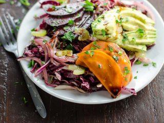 Beet Salad Recipe with Avocado