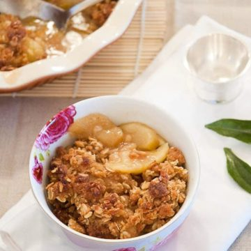 Best Apple Crisp Recipe 780 | Umami Girl-2