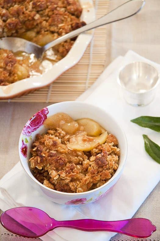 Best Apple Crisp Recipe 780 | Umami Girl-2
