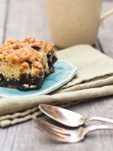 Blueberry Overload Coffee Cake Recipe with Streusel 780 | Umami Girl