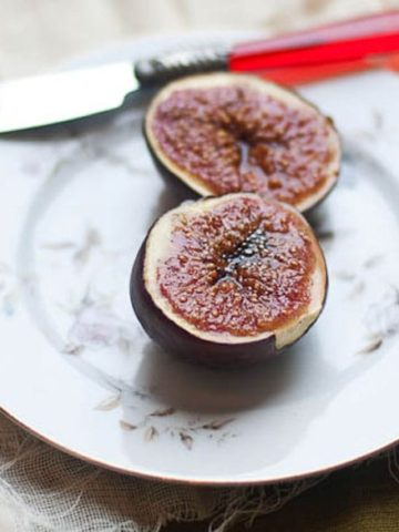 Broiled Figs Recipe with Honey and Vanilla 780 2