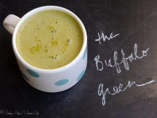 Buffalo Green Juice (A Savory and Spicy Green Juice!)