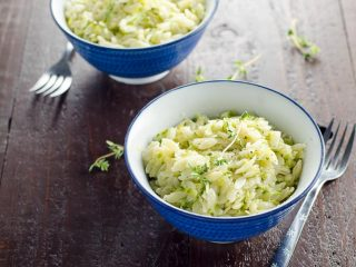 Camille Kingsolver's Disappearing Zucchini Orzo