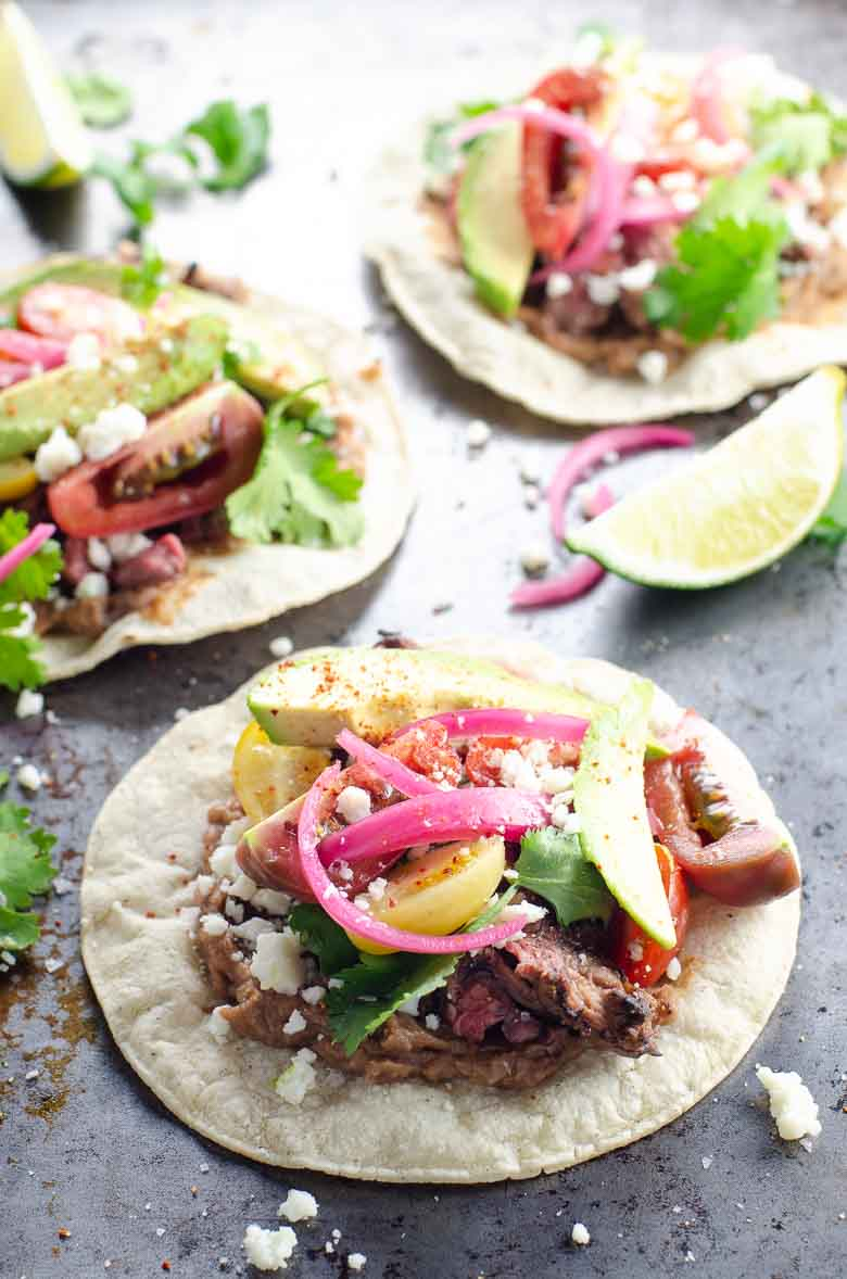 Carne Asada Tacos Recipe | Umami Girl