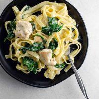 Chicken Alfredo Recipe with Spinach