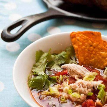 Chicken Tortilla Soup Recipe 780 Umami Girl