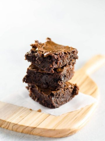 Classic Brownies in One Bowl 780 | Umami Girl