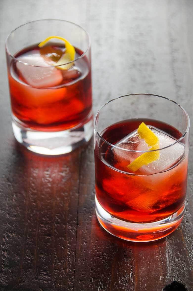 Negroni Recipe Classic Cocktail 780 | Umami Girl