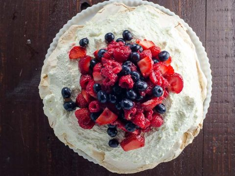 Classic Pavlova Recipe with Mixed Berries
