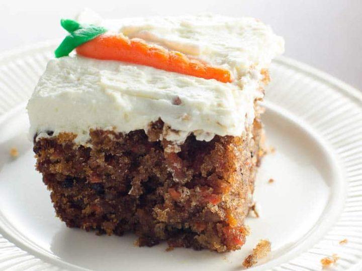 Easy Carrot Cake Recipe 780 | Umami Girl