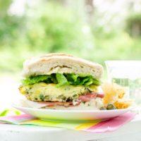 Easy Picnic Food: Frittata Sandwich
