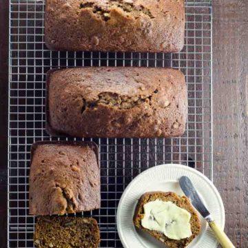Easy Pumpkin Bread Recipe with Olive Oil 780 | Umami Girl-2