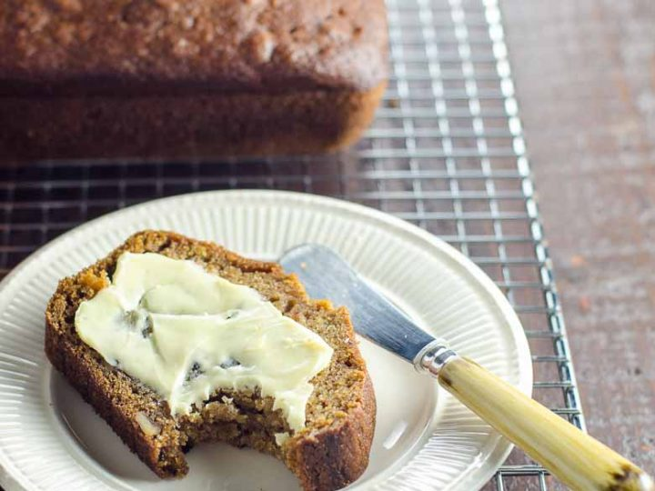Easy Pumpkin Bread Recipe with Olive Oil 780 | Umami Girl-2