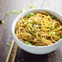Quick and Easy Sesame Noodles Recipe