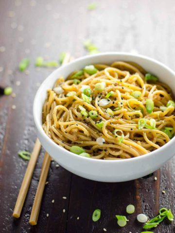 Easy Sesame Noodles 780 | Umami Girl