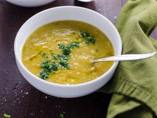 Layla's Lentil Soup: Easy Vegetarian Red Lentil Soup