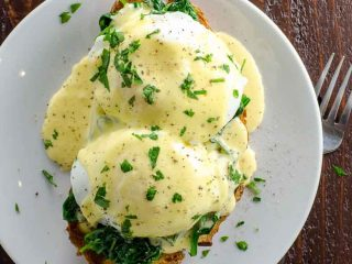 Eggs Florentine, Carluccio's London Style