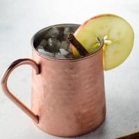 Fall Cocktail: The Apple Cider Moscow Mule