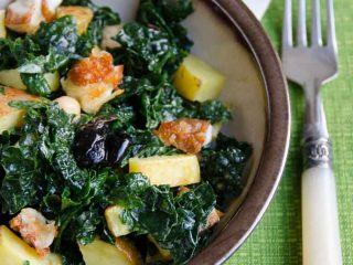 Our Family's Favorite Kale Salad Recipe