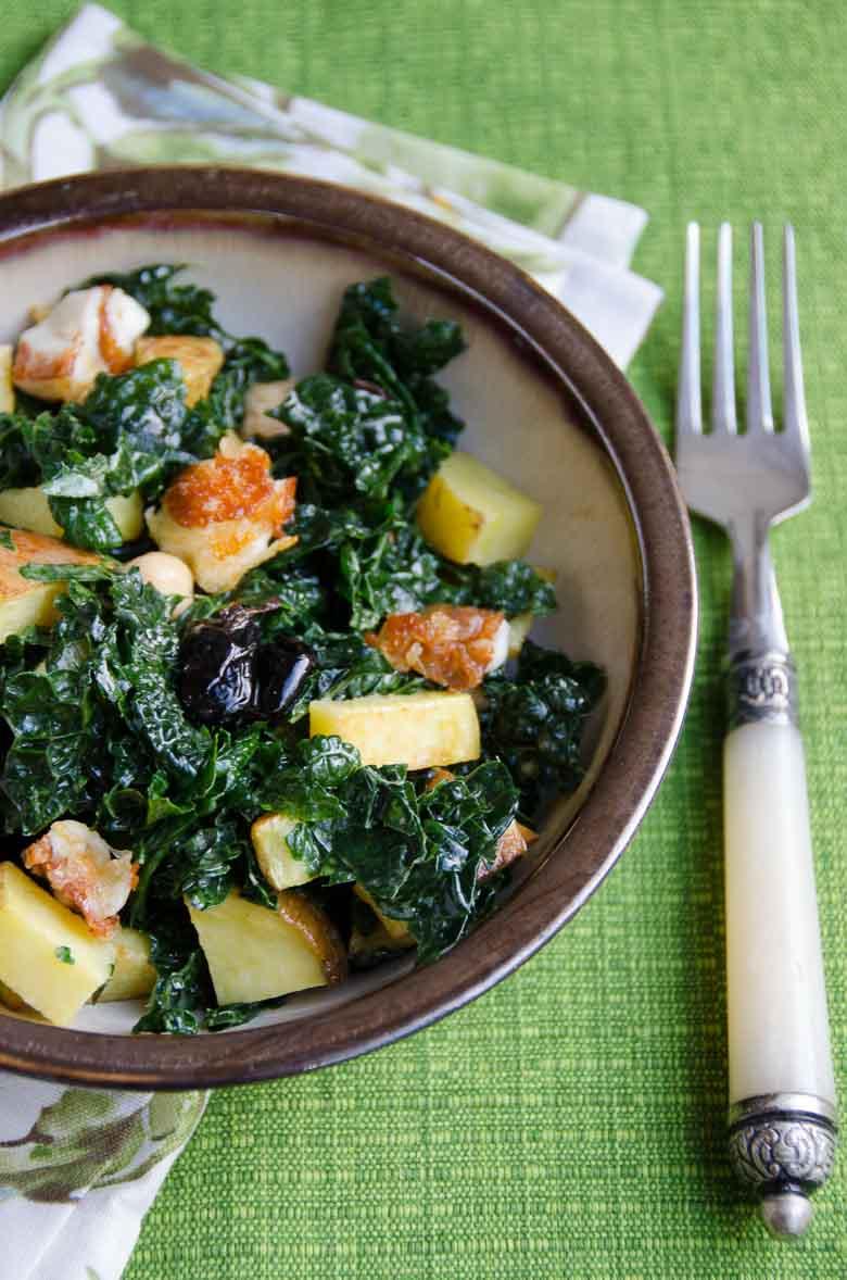 Family Favorite Kale Salad Recipe 780 | Umami Girl