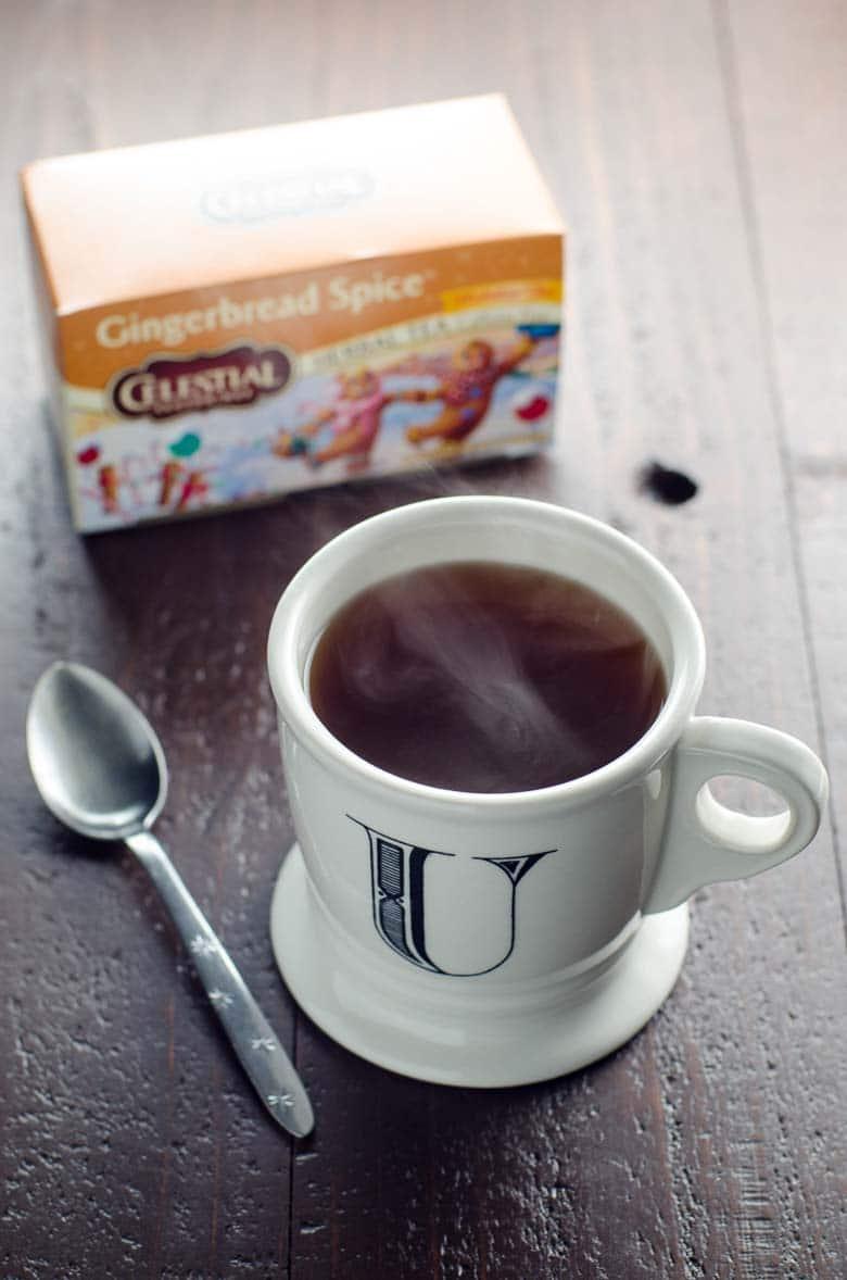 Gingerbread Spice Tea Glazed Donuts 780 | Umami Girl