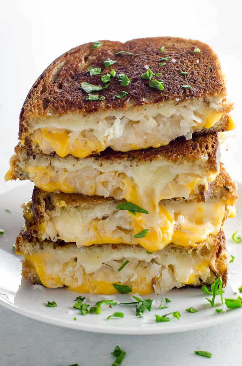 Grilled Cheese with Sauerkraut and Dijon 780 | Umami Girl-2
