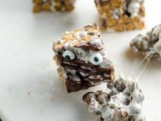Halloween Cocoa Puff Marshmallow Treats