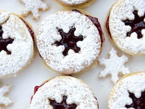 Holiday Linzer Cookies Recipe 780 | Umami Girl-2