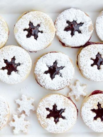 Holiday Linzer Cookies Recipe 780 | Umami Girl-2