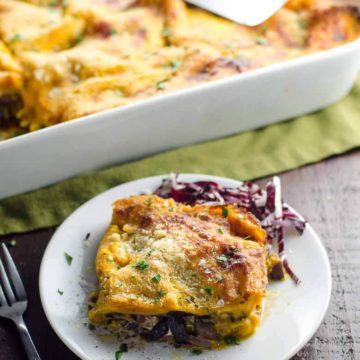 Kabocha Squash Lasagna Recipe (Vegetarian Squash Lasagna) 780 | Umami Girl-2