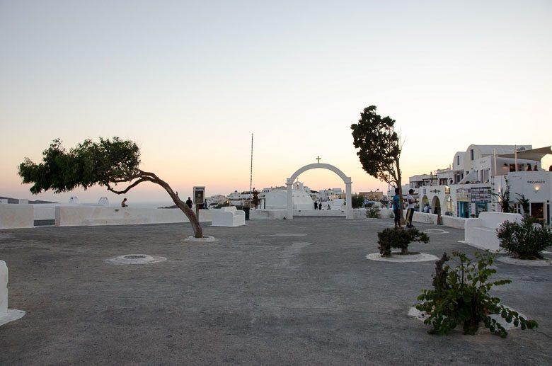 Leaving Oia Village Santorini Greece 780 | Umami Girl