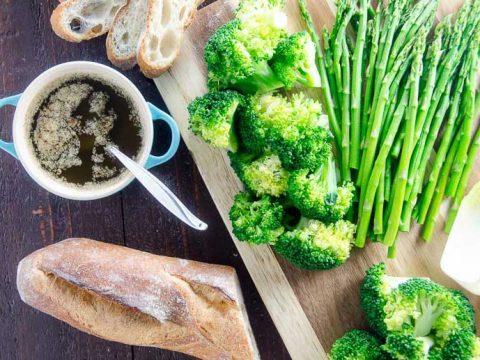Marcella Hazan's Bagna Cauda Vegetables Appetizer 780 | Umami Girl-2