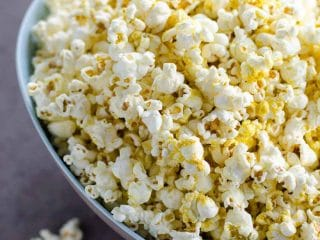 My Perfect Popcorn (with Nutritional Yeast)